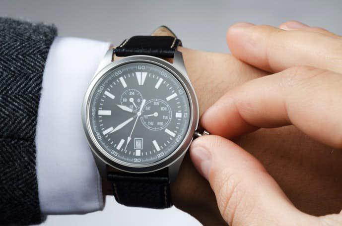 タグホイヤーアクアレーサーモデルの腕時計