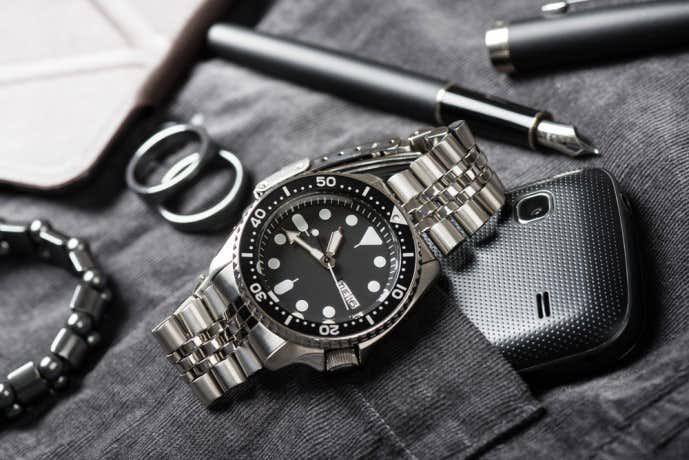 タグホイヤーカレラモデルの腕時計