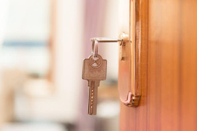 大切な鍵を守るキーケースをプレゼント