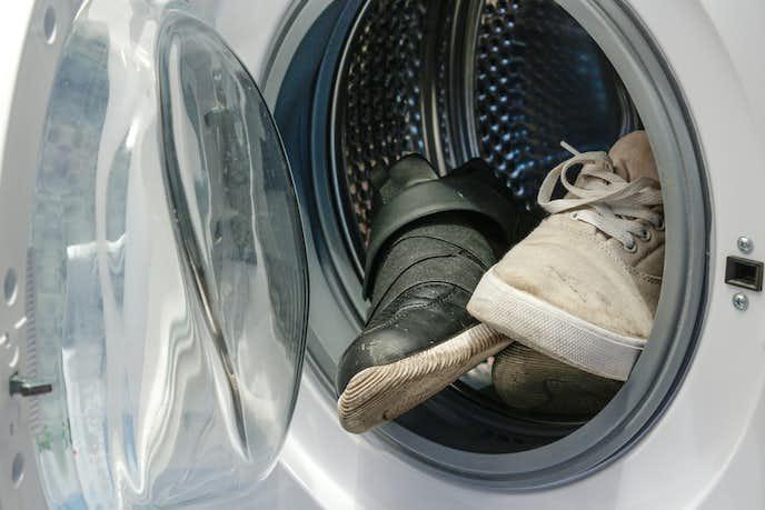 スエード靴の水洗い