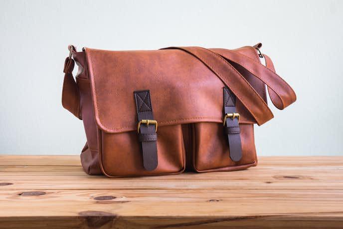 土屋鞄のビジネスバッグ