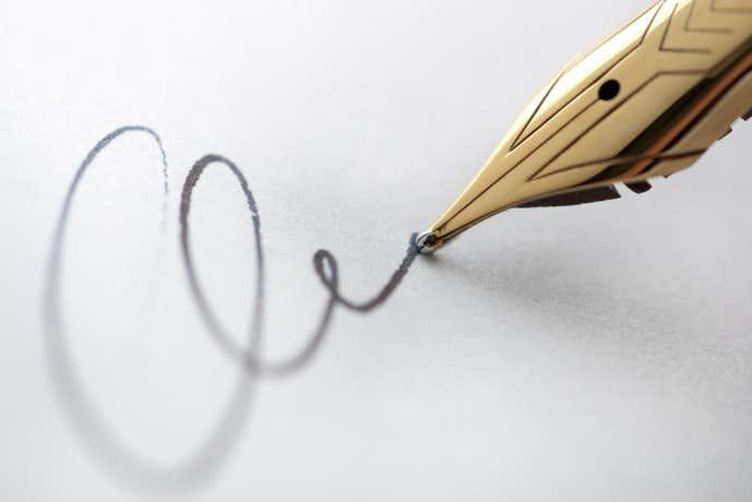 紳士が持つべき高級万年筆