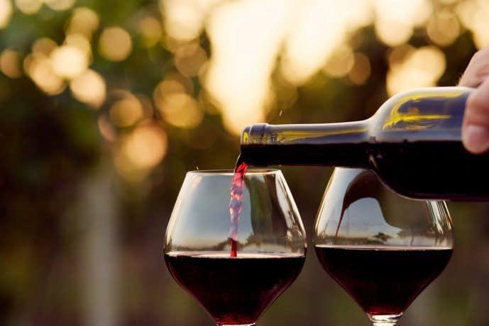 大切な日にワイングラスのプレゼントを