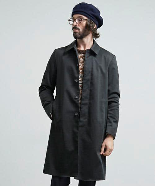 ステンカラーコートのおすすめブランド