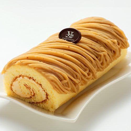 父の日にプレゼントしたいケーキは花月堂の通販で買えるモンブランロールケーキ