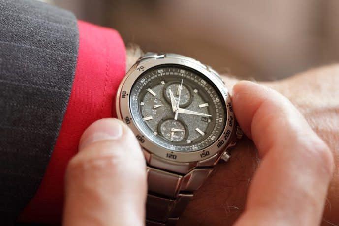 父の日に時計のプレゼント